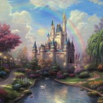 New Day at the Cinderella Castle, A – Limited Edition Canvas