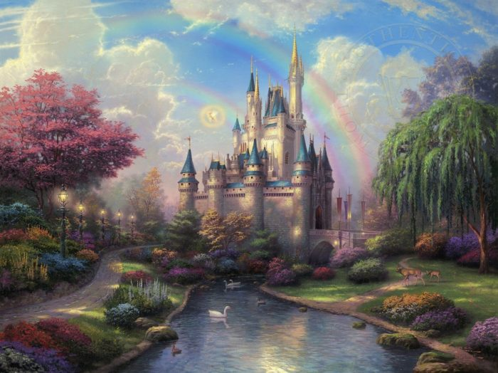 New Day at the Cinderella Castle, A – Limited Edition Art