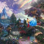 Cinderella Wishes Upon a Dream – Limited Edition Canvas