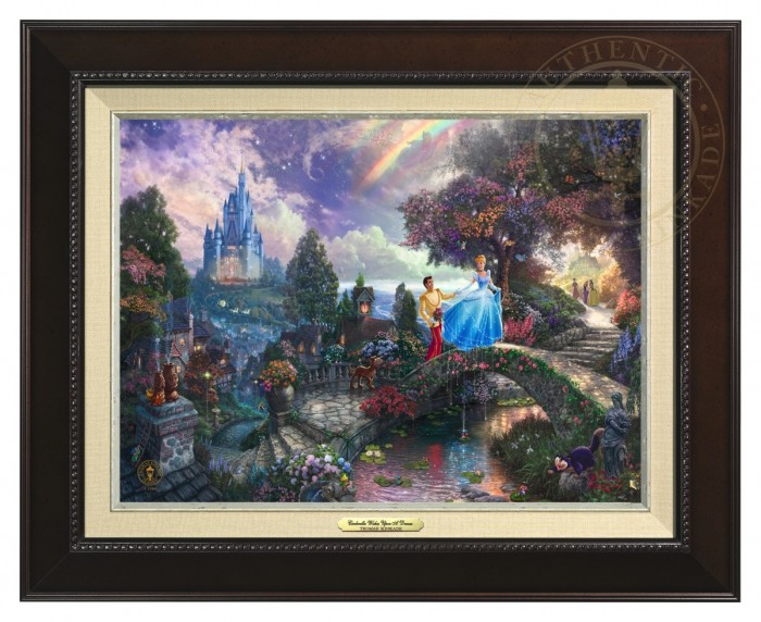 Cinderella Wishes Upon a Dream – Canvas Classic