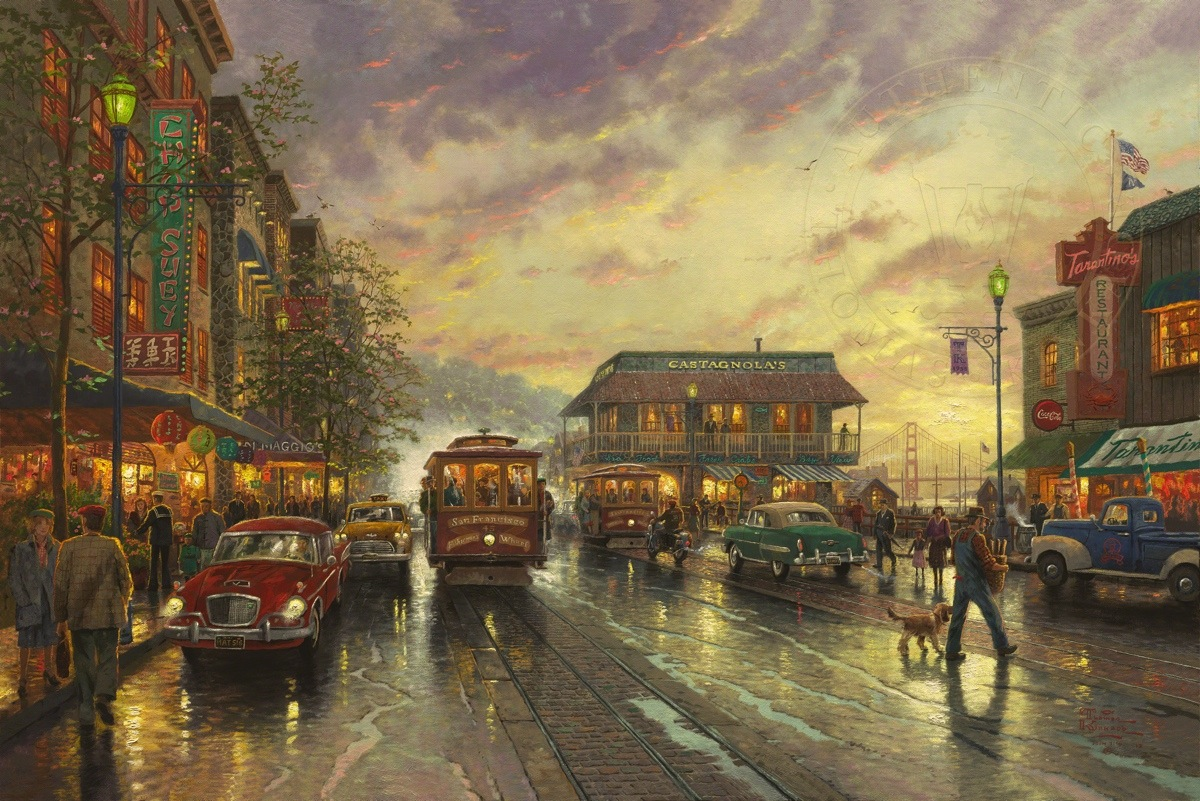 City by the Bay – Limited Edition Art | The Thomas Kinkade Company