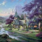 Clocktower Cottage – Limited Edition Art