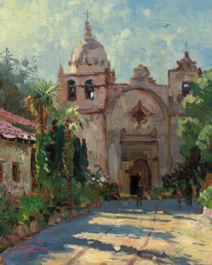 Carmel Mission – Limited Edition Canvas
