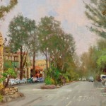 Carmel, Ocean Ave II – Limited Edition Canvas