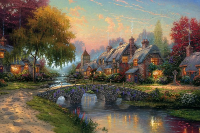 Cobblestone Bridge – Limited Edition Art