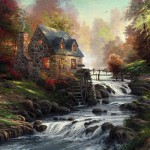 Cobblestone Mill – Limited Edition Canvas