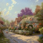 Cobblestone Village – Limited Edition Canvas