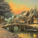 Cobblestone Christmas – Limited Edition Canvas