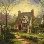 Cottage, The – Limited Edition Canvas