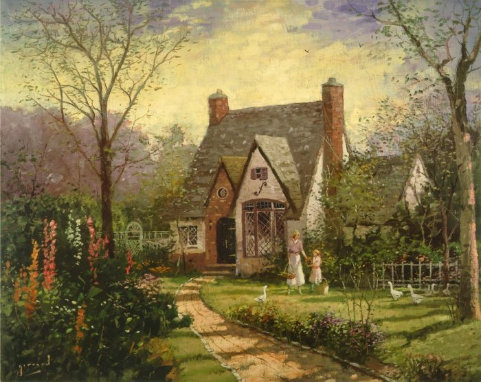 Cottage, The – Limited Edition Art