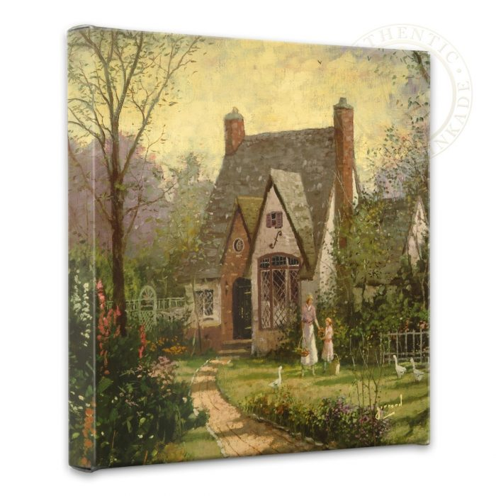 Cottage, The – 14″ x 14″ Gallery Wrapped Canvas