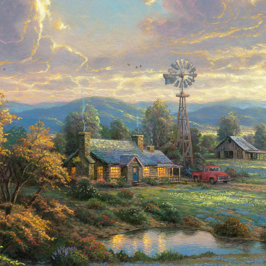 Country Living – Limited Edition Art