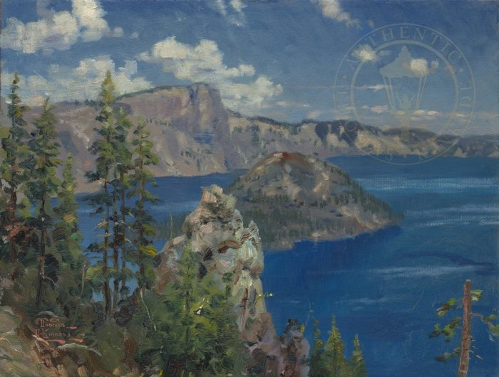 Crater Lake – Limited Edition Canvas