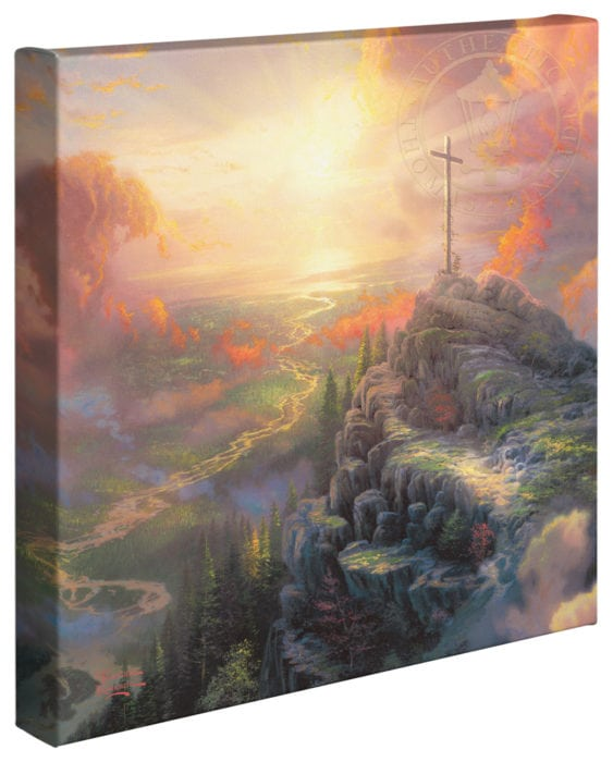 Cross, The – 14″ x 14″ Gallery Wrapped Canvas