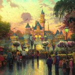 Disneyland, 50th Anniversary – Limited Edition Art