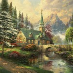 Dogwood Chapel – Limited Edition Canvas