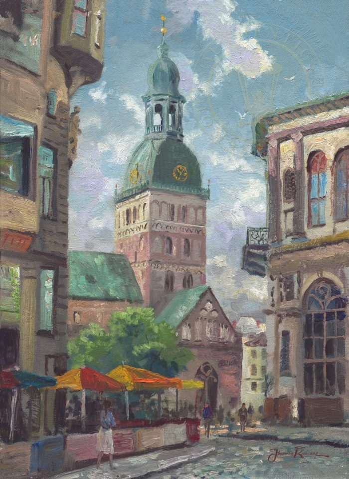 Dome Cathedral, Riga, Latvia, The – Limited Edition Canvas