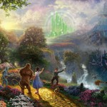 Dorothy Discovers the Emerald City – Limited Edition Canvas