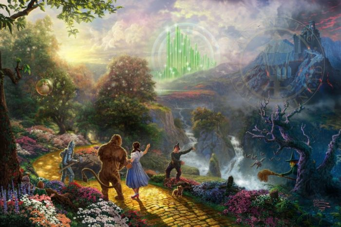 Dorothy Discovers the Emerald City – Limited Edition Art
