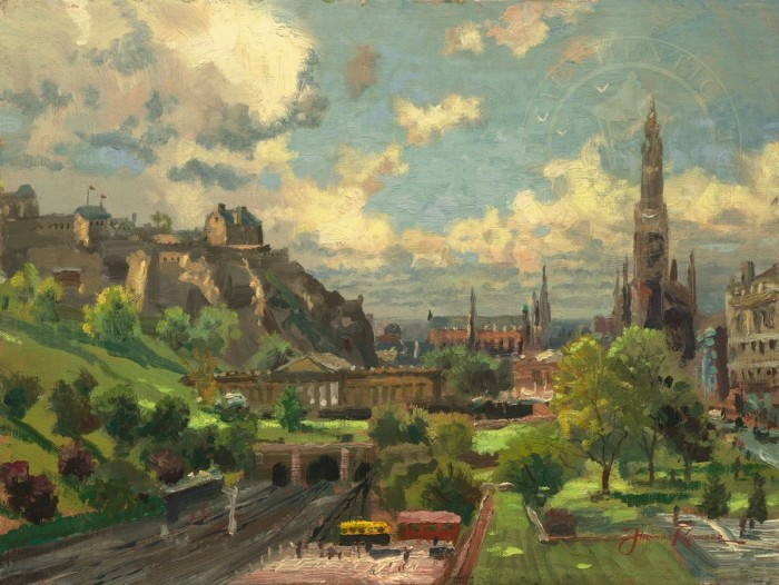 Edinburgh, Scotland – Limited Edition Art