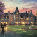Elegant Evening at Biltmore® – Limited Edition Canvas