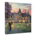 Elegant Evening at Biltmore®  – 14″ x 14″ Gallery Wrapped Canvas