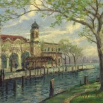 Ellis Island – Limited Edition Canvas