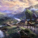 Emerald Valley – Limited Edition Canvas
