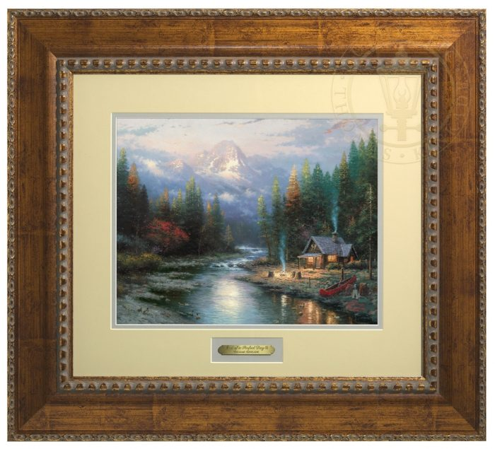 The End of a Perfect Day II – 23″ x 25.5″ Prestige Home Collection (Antiqued Gold Frame)