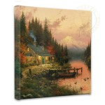 End of a Perfect Day, The – 14″ x 14″ Gallery Wrapped Canvas