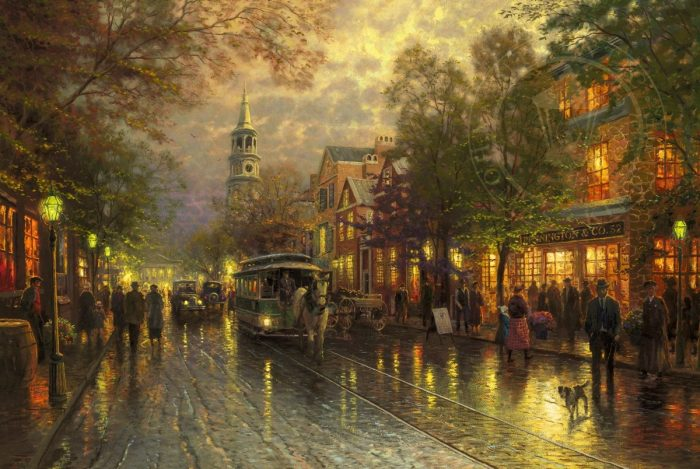 Evening on the Avenue – Limited Edition Art