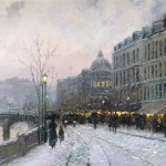 Evening on the Seine – Limited Edition Art