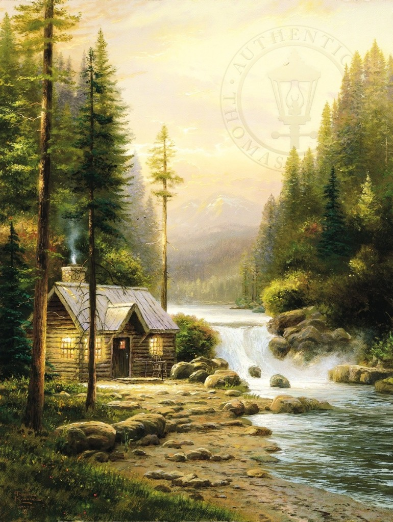 Evening in the Forest – Limited Edition Art