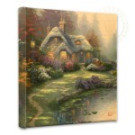 "Everett's Cottage – 14"" x 14"" Gallery Wrapped Canvas"
