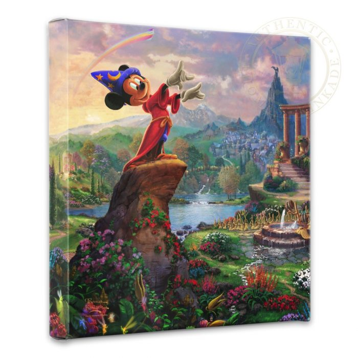 Fantasia – 14″ x 14″ Gallery Wrapped Canvas