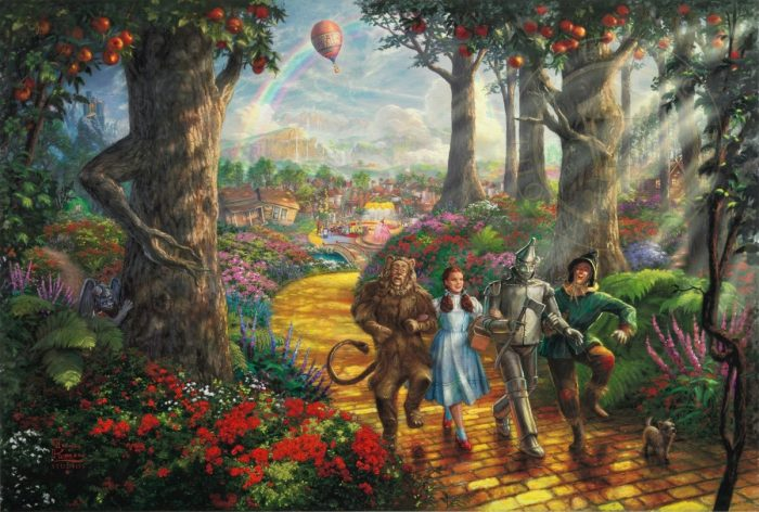 Follow The YELLOW BRICK ROAD™ – Limited Edition Canvas