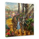 Follow The YELLOW BRICK ROAD™ – 14″ x 14″ Gallery Wrapped Canvas