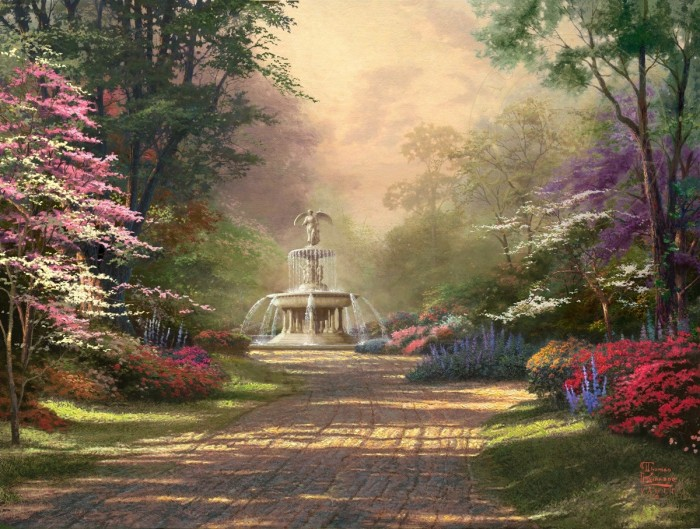 Fountain of Blessings – Limited Edition Art