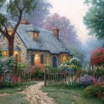 Foxglove Cottage – Limited Edition Art