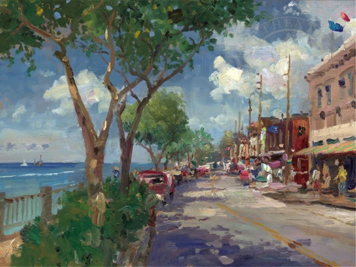 Front Street, Lahaina – Limited Edition Art