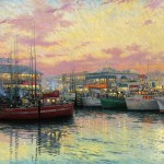 Fisherman's Wharf, San Francisco – Limited Edition Canvas