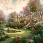 Gardens Beyond Spring Gate – Limited Edition Canvas