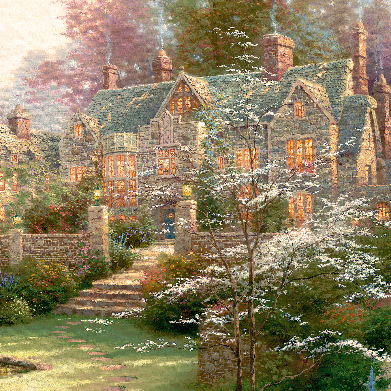 Gardens Beyond Spring Gate – Limited Edition Art | The Thomas ...