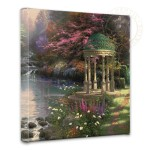 "Garden of Prayer, The – 14"" x 14"" Gallery Wrapped Canvas"