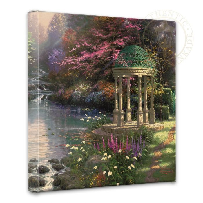 Garden of Prayer, The – 14″ x 14″ Gallery Wrapped Canvas