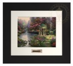 Garden of Prayer, The – Modern Home Collection (Espresso Frame)