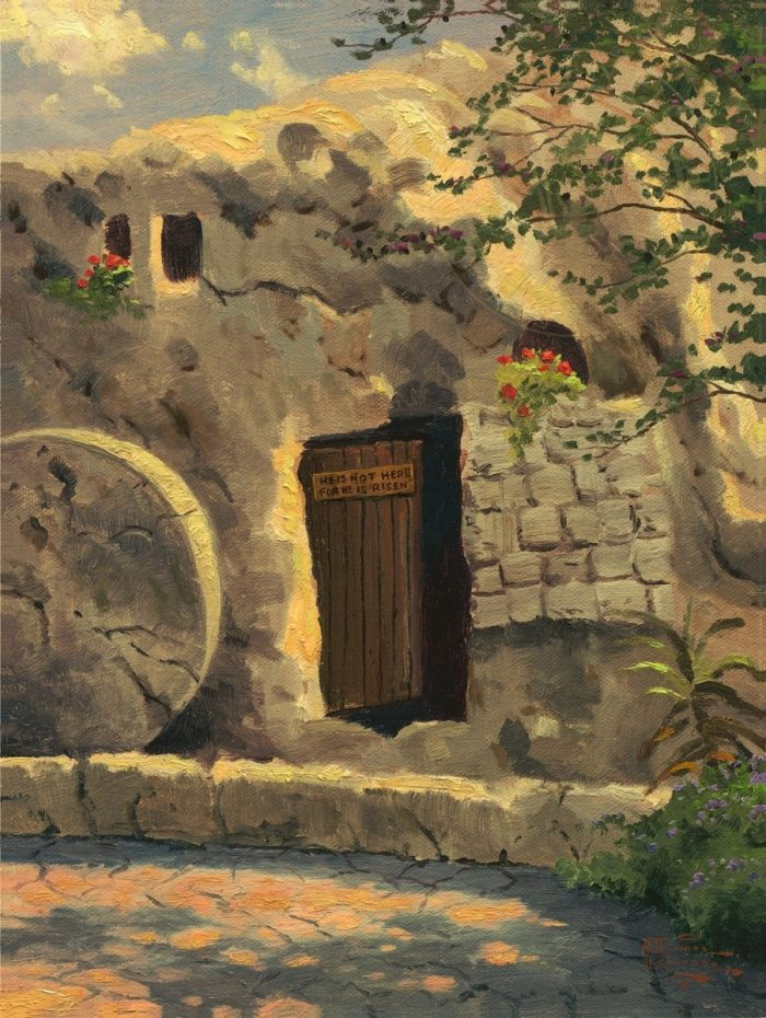 Garden Tomb, The – Limited Edition Canvas