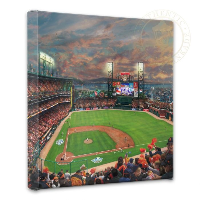 San Francisco Giants™, <em>It's Our Time</em> – 14″ x 14″ Gallery Wrapped Canvas