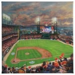 San Francisco Giants, It's Our Time - 14 x 14 Gallery Wrapped Canvas Front View