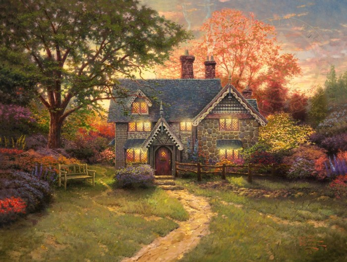 Gingerbread Cottage – Limited Edition Art